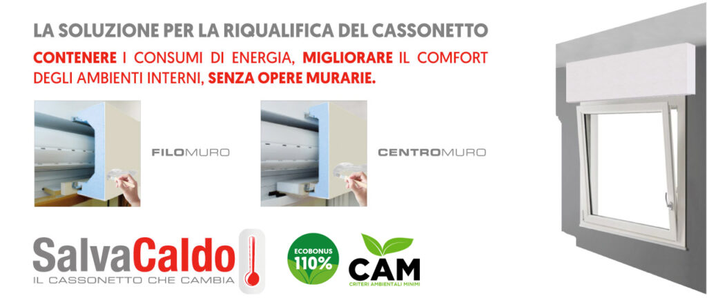 Riqualifica monoblocco cassonetto